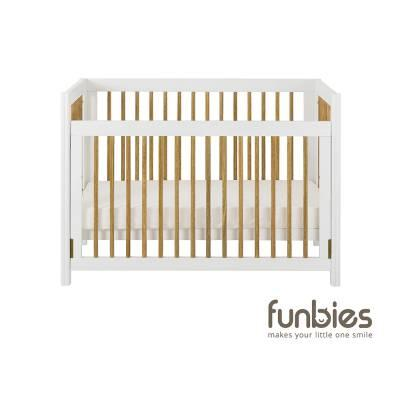 Clover Baby Cot Set (White)