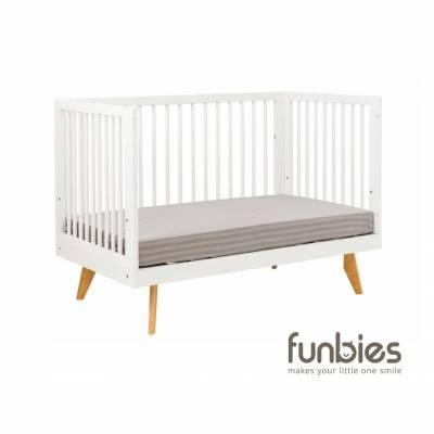 Viggo Baby Cot Set  (White)