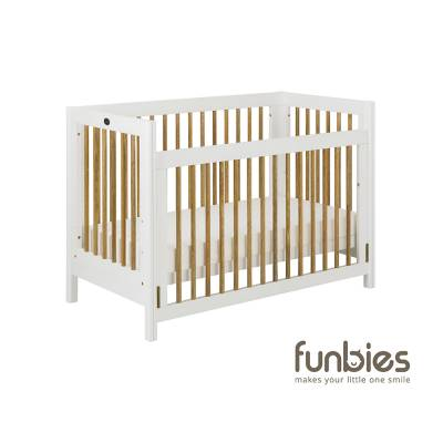 Clover Baby Cot (White)