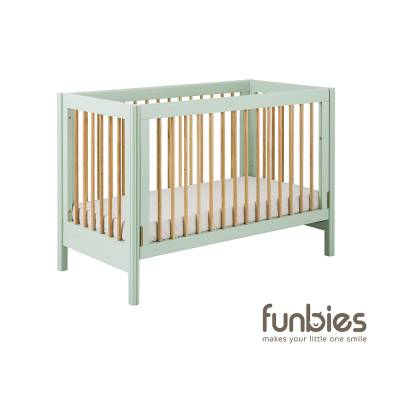 Clover Baby Cot Set (Soft Green)