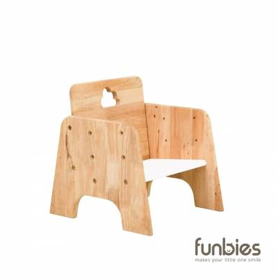 Cloud 9 Wooden Stool Chair